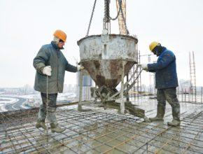 Кратко о выборе бадей для бетона при монолитном строительстве.