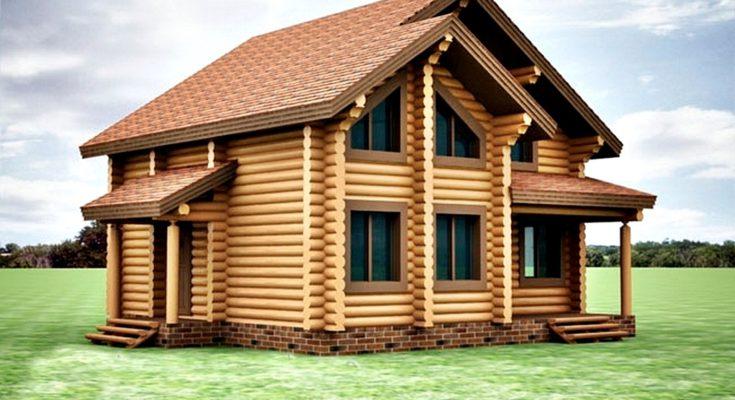 Преимущества дома из оцилиндрованного бревна