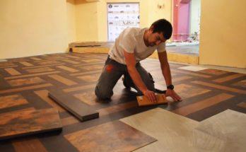 Выбор напольного покрытия — ламинат или плитка ПВХ